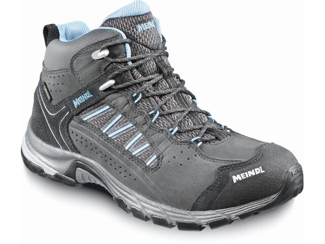 Meindl W's Journey Mid GTX Shoes Anthracite/Dark Azure